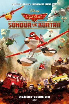 Uçaklar 2: Söndür ve Kurtar – Planes: Fire & Rescue 3D 1080p Full HD Bluray izle