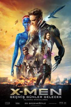 X-Men: Geçmiş Günler Gelecek 2014 Türkçe Dublaj Full HD izle