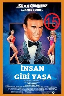 James Bond İnsan Gibi Yaşa 1080p Bluray Türkçe Dublaj
