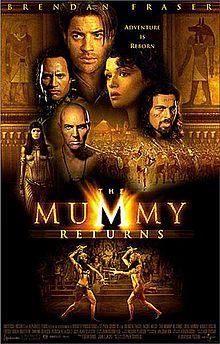 Mumya'nın Dönüşü 2001 1080p Bluray Türkçe Dublaj izle