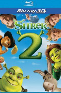 Şhrek 2 3D 1080p Full HD Bluray Türkçe Dublaj izle