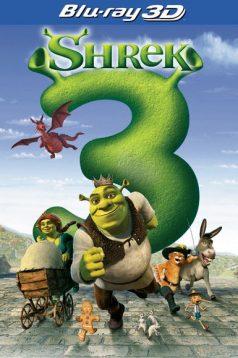 Şhrek 3 1080p 3D Bluray Türkçe Dublaj izle
