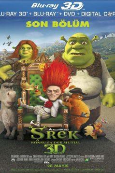 Şhrek 4 Sonsuza Dek Mutlu 3D 1080p Bluray Türkçe Dublaj izle