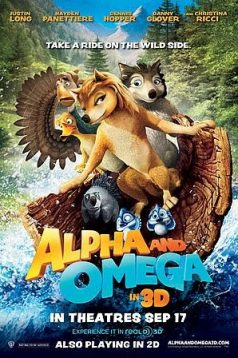 Alfa ve Omega Eve Dönüş Macerası 3D izle