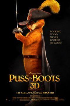 Çizmeli Kedi – Puss In Boots 3D 1080p izle