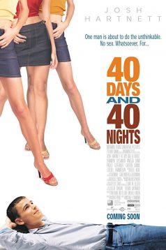 40 Days And 40 Nights – Elim Belim Bağlı 1080p izle 2002