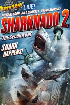 Sharknado 2 The Second One 1080p izle 2014
