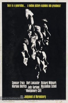 Judgment at Nuremberg – Nuremberg Duruşması izle 1080p 1961