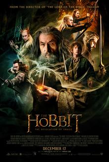 Hobbit Smaug'un Çorak Toprakları Full HD izle